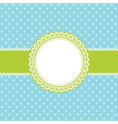 Easter themed background vector