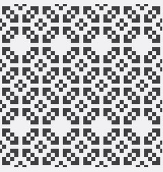 pixel seamless pattern vector image
