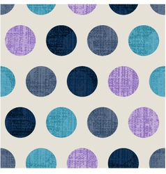 seamless abstract polka texture vector image