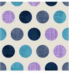 Seamless abstract polka texture vector