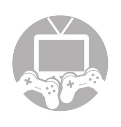 Video game control with tv vector