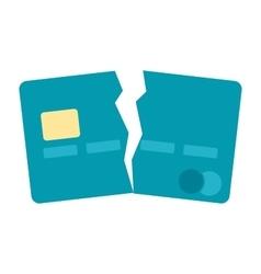 Debt Free Concept vector image vector image