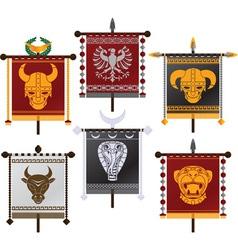 set of fantasy standards second variant vector image vector image