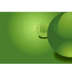 abstract spheres background vector image