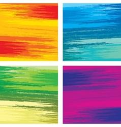 Brushstrokes Textures vector image