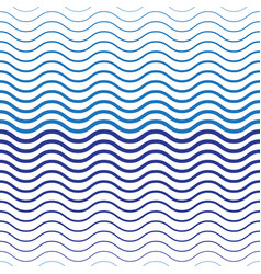 abstract two-tone wave seamless pattern vector image