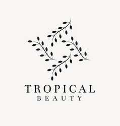 Aesthetic business logo template creative vector