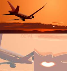 boeing-788 vector image vector image