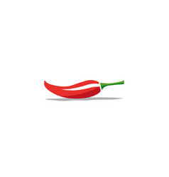 chilli pepper logo design icon vector image
