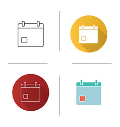 Event date icon vector