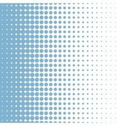 Halftone bleu vector