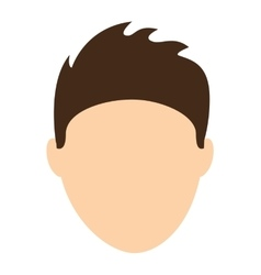man male avatar young icon vector image