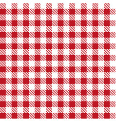 red patterns tablecloths stylish design vector image