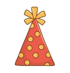Birthday party element cartoon vector