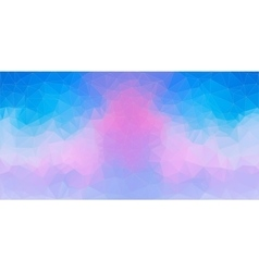 Blue and Pink abstract polygonal background vector