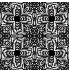 optical art abstract striped seamless pattern vector image