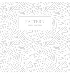 Seamless geometric patterns in memphis style vector