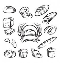 bread vector image vector image
