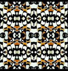 color seamless natural pattern in butterfly print vector image