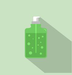 Aloe vera soap icon flat style vector