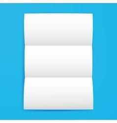 Empty Brochure Template vector image