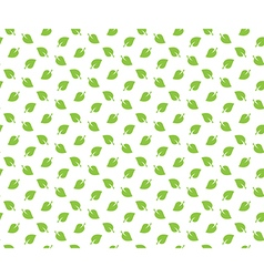 Green spring leaves seamless pattern wallpapper vector image