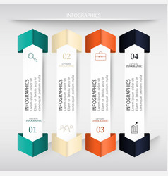 Infographics business banners vector