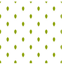 Lemon leaf pattern seamless vector