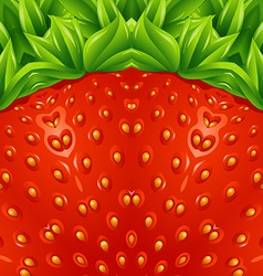 Optical strawberry background pattern vector image