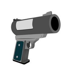 Realistic flare gun vector
