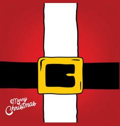 Santa claus christmas suit vector