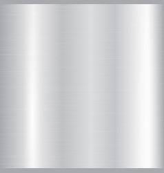 Silver metallic gradient vector