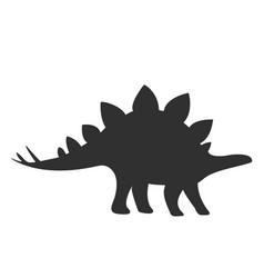 Stegosaurus icon dinosaur icon vector