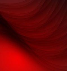 Stylish abstract red background vector