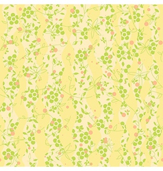 Floral Abstract Background pattern vector image vector image