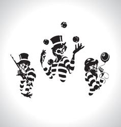 clown series vector image