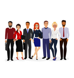 cool set of business vector image