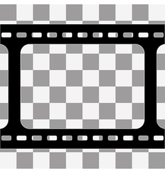 film strip with space vector image