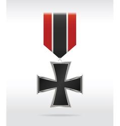 Medal cross vector