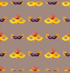 authentic seamless pattern venetian painted vector image