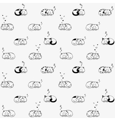cat seamless vector image