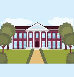 professional education university to people vector image
