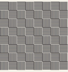 Stylish lines maze lattice ethnic monochrome vector