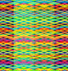 bright rainbow seamless pattern vector image