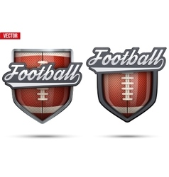 Premium symbols of US Football Tag vector image vector image