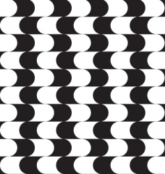 optical effect pattern vector image