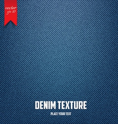 jeans texture 2 vector image