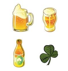 Beer Set vector image vector image