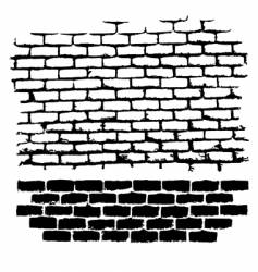 ugly brick vector image vector image