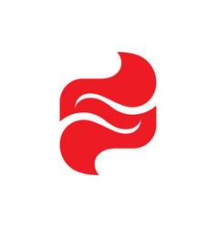 Abstract shape - logo concept design vector